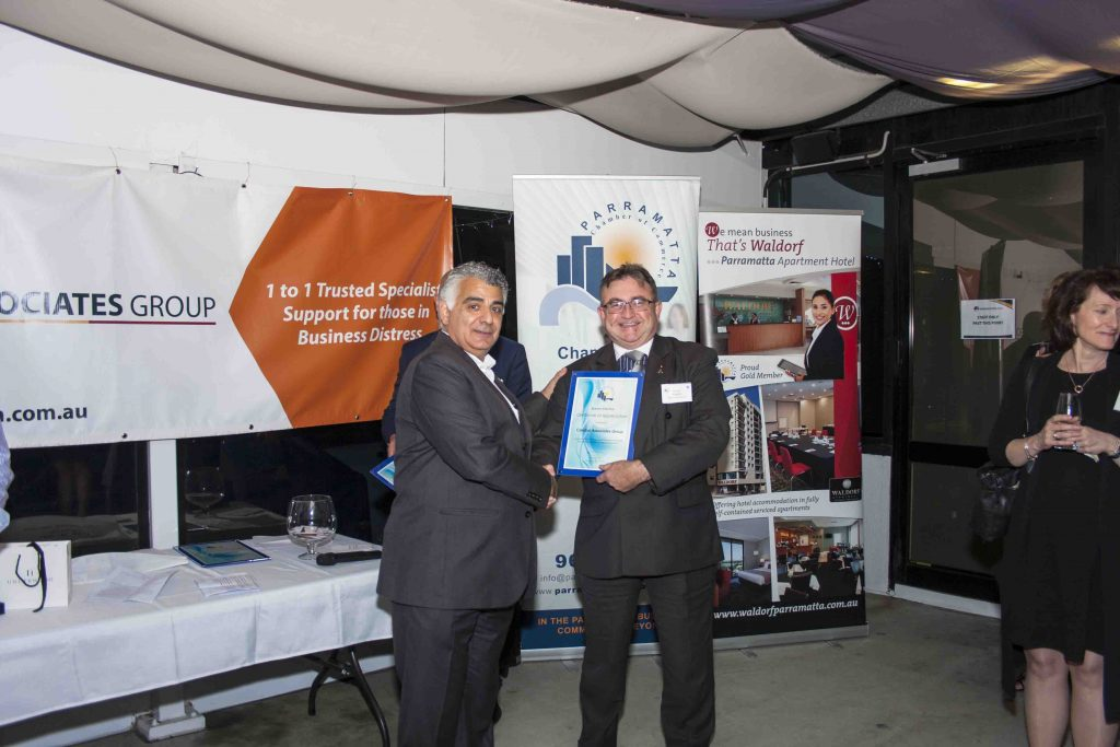 Parramatta Chamber of Commerce's Business After 5